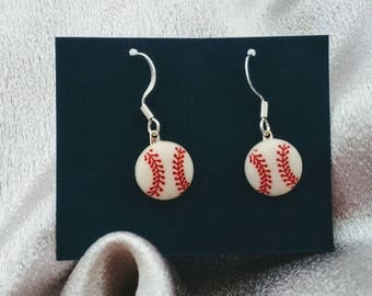 baseball earrings sports earrings brockus creations