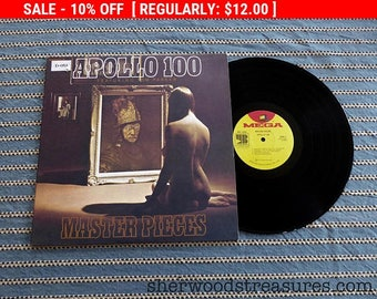 August Vinyl Blow Out 10% OFF Already Low Prices Nude Cover LP APOLLO 100 Record 1972 Master Pieces