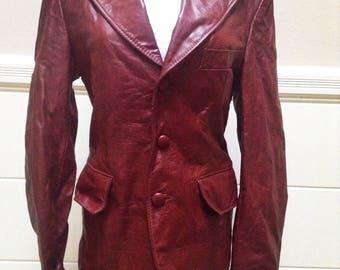 Vintage Late 70s Leather Jacket