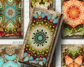 ON SALE MOROCCAN Relics 1x2 Tiles, Printable Digital Images, Cards, Gift Tags, Stickers, Scrabble Tiles, Magnets