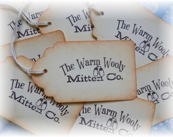 Warm and Wooly Mitten Co - Gift/Hang Tags (8)
