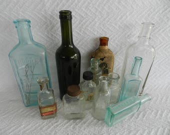 Vintage Bottles-Antique Bottles-Old Bottles