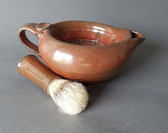 Scuttle Bowl Shaving Large Capacity Big Daddy in Iron Red