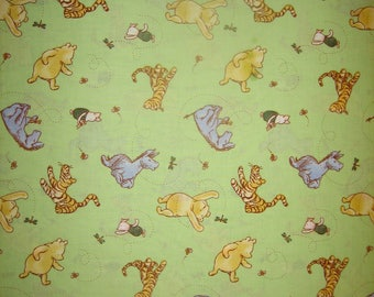 Classic Pooh character toss  CP21790 Disney, AA Milne, EH Shepard fabric ( BTHY )Springs Creative