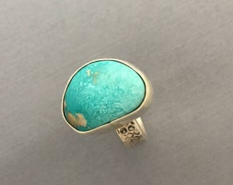 Bold Turquoise ring