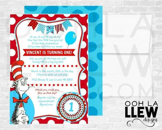 Dr Seuss Snapchat Filter Thing 1 Thing 2 Snapchat GeoFilter – Dr Seuss Invitations Birthday