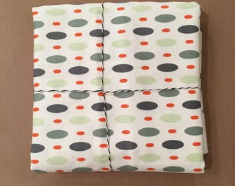 1 1/8 yard Amy Butler Oval Dots Forest Japanese