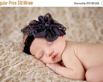 12% off Baby headband, newborn headband, adult headband, child headband and photography prop The single sprinkled- LORELEI headband