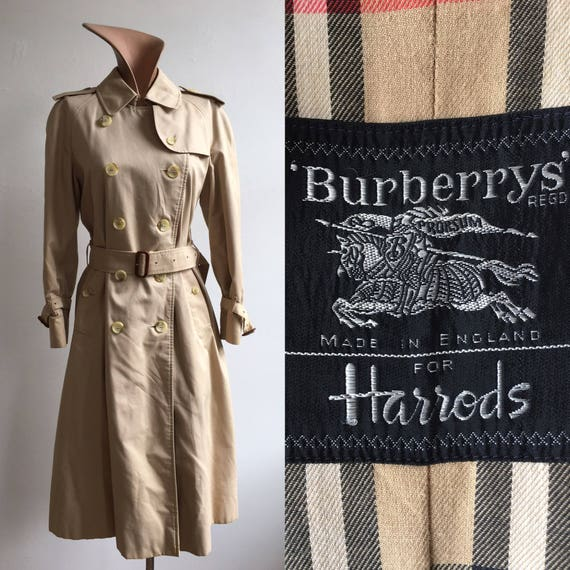 1970s Women's Burberrys & Trench Coat from Harrods
