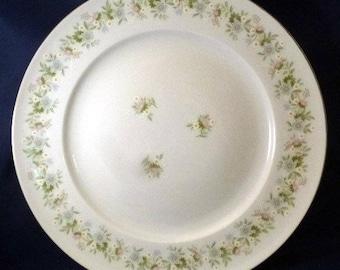 Vintage Forever Spring Johann Haviland Bavaria Germany Dinner Plate, 1980s