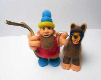 Gnome and Alpaca