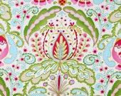 Dena Designs - KUMARI GARDEN - Teja in Pink - 1 Yard - Cotton Fabric