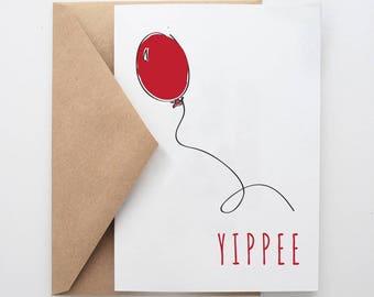 Y I P P E E  -- Celebration Card