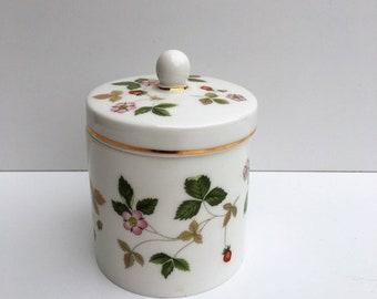 Wedgwood Wild Strawberry Lidded Pot