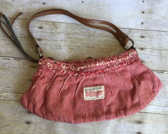 Small Red Purse - Bongo - Railroad Denim