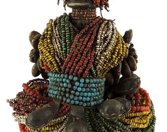 Fali Fertility Doll Phallic Cameroon African Art 112805