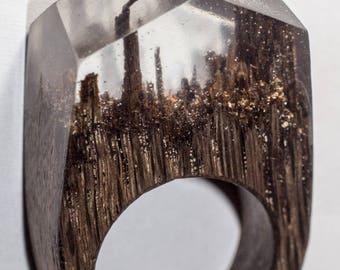 007 Resin wood ring