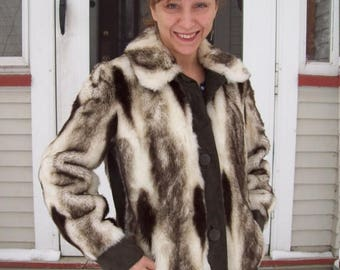 Birthday Sale Faux Fur And Suede Bomber Jacket By Tissaval Made In England