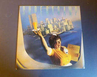 Supertramp Breakfast In America Vinyl Record LP SP-3708 A&M Records 1979