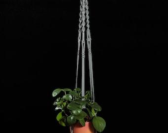 """Macrame Plant Hanger / Hanging Planter Indoor / Large Plant Holder / Ceiling Rope Planter / Flower Pot Holder / Suspension Macramé / 50"""""""