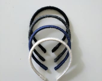 School Uniform Pack // Plain Headbands // Pack of Four