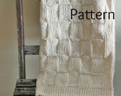 Knitting PATTERN Baby Blanket/The Siberian Baby Blanket /Perfect For Beginners