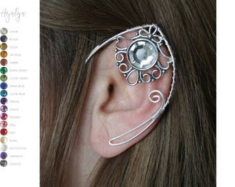 elven ear cuffs - ear cuff - elf ears - more than 10 colours available