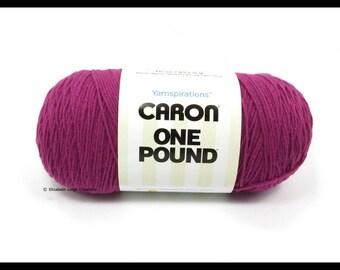 Caron One Pound, Purple, 16 oz