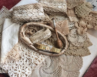 Antique Lace And Handwork Just What The Doctor Ordered