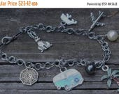 Sale LOST Inspired Charm Bracelet