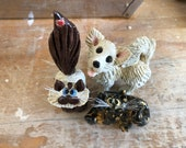 RESERVE LISTING for Tanya D Erickson  Custom designs of her pets, originals by Pencepets, Pence Animal Sculptures