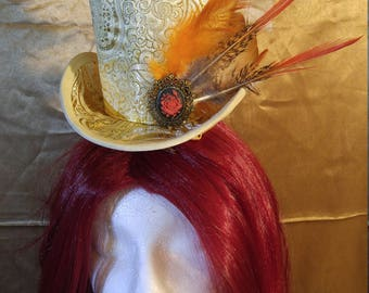Beauty and the Beast Inspired Mini top Hat