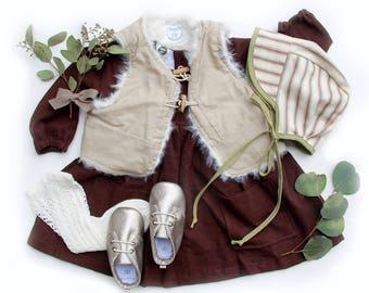 The Piper Pocket Dress, Pocket dress, Long sleeve dress, Linen dress