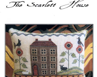 The Scarlett House: On Redware Road - Cross Stitch Pattern