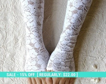 Summer Sale Bridal gloves, white lace gloves, wedding gloves, long lace gloves FREE SHIPPING