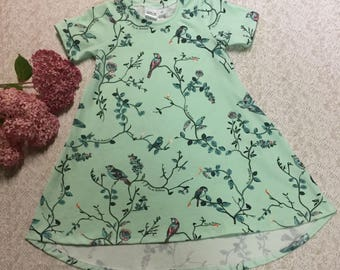 Mint Sparrows Roses Custom Dress Summer Collection LIMITED
