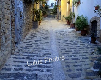 Prints, Personalized Cards, Alleys of Sicily,  Fine Art Photography