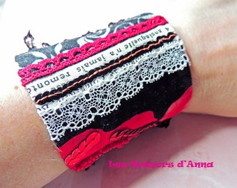"""Cuff collection """"Roses of the Alhambra"""" Cuff Bracelet collection """"roses of the Alhambra"""""""