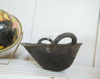 Recycled Rubber Basket SM