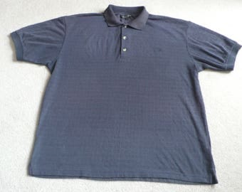 Dunlop platinum collection navy polo neck shirt L mod