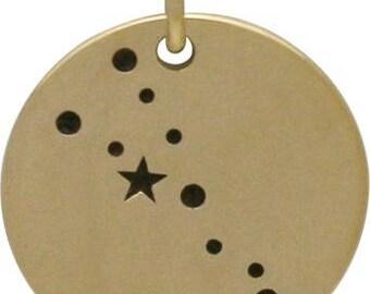 Taurus Constellation, Bronze -18mm