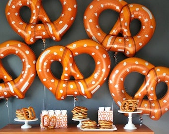 Pretzel Balloon, 41 inch, large balloons,  party decoration