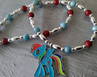 Rainbow Dash My Little Pony Necklace