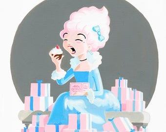 Marie Antoinette Print A5