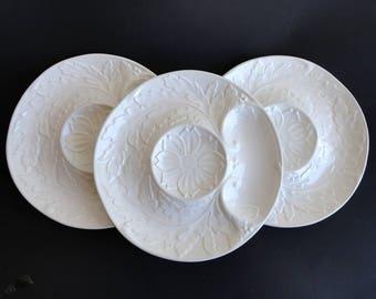 Vintage Artichoke Plates Williams Sonoma Made in Portugal Majolica