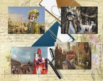 Tibetan Spaniel  Art, Tibby Postcard Set, Tibby Greeting Card Set, Tibby Sticker, Tibby Vinyl Decal, Tibby Portrait, Tibby Print