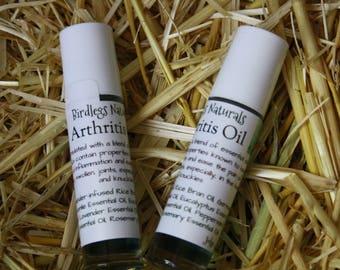 Arthritis Oil - Natural Pain Relief - Last Five