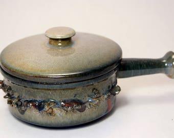 Ragnar Kjartansson (1923-1988) Glit Pottery - Iceland - Lava - Studio Pottery - Art Ceramics -- Mid Century Modern