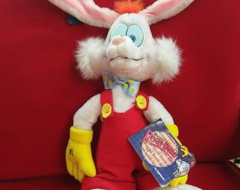 Who framed Roger rabbit plush stuffy tags on
