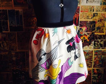 Darkwing Duck Plus Sized Skirt